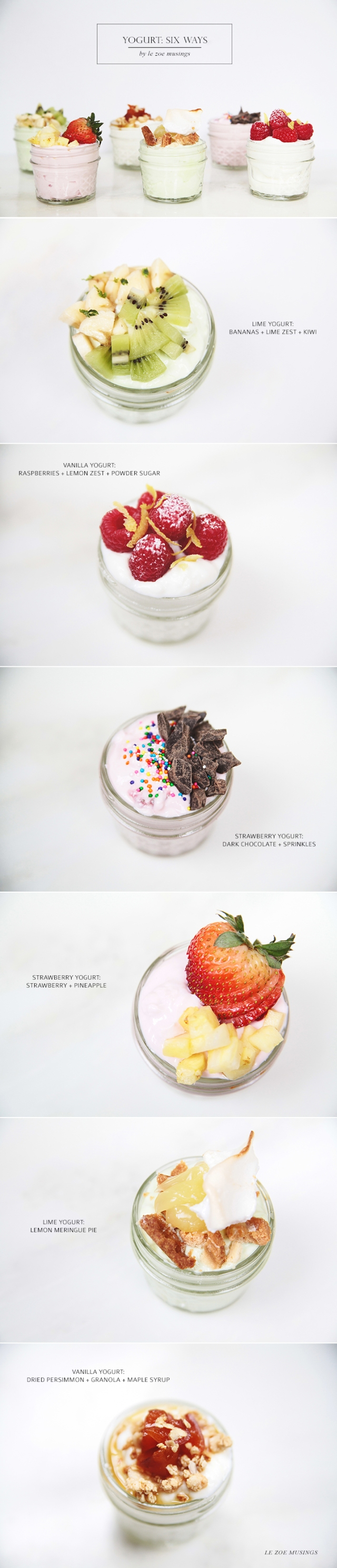 Yogurt 6 Ways_Le Zoe Musings