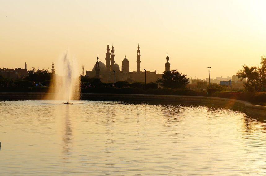 Azhar Garden in Cairo